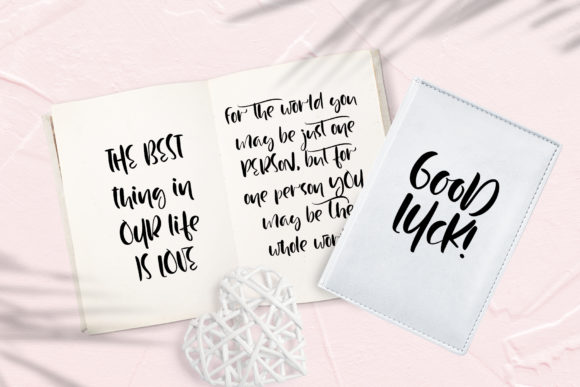 Print on Demand: Just Case Script & Handwritten Font By Happy Letters - Image 7
