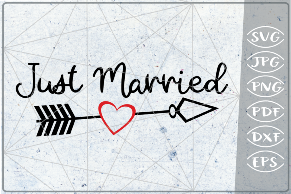 Just Married SVG Crafters Bride Quotes Graphic Crafts By Cute Graphic