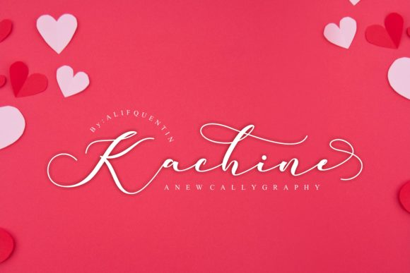 Kachine Font By alifquentin Image 1