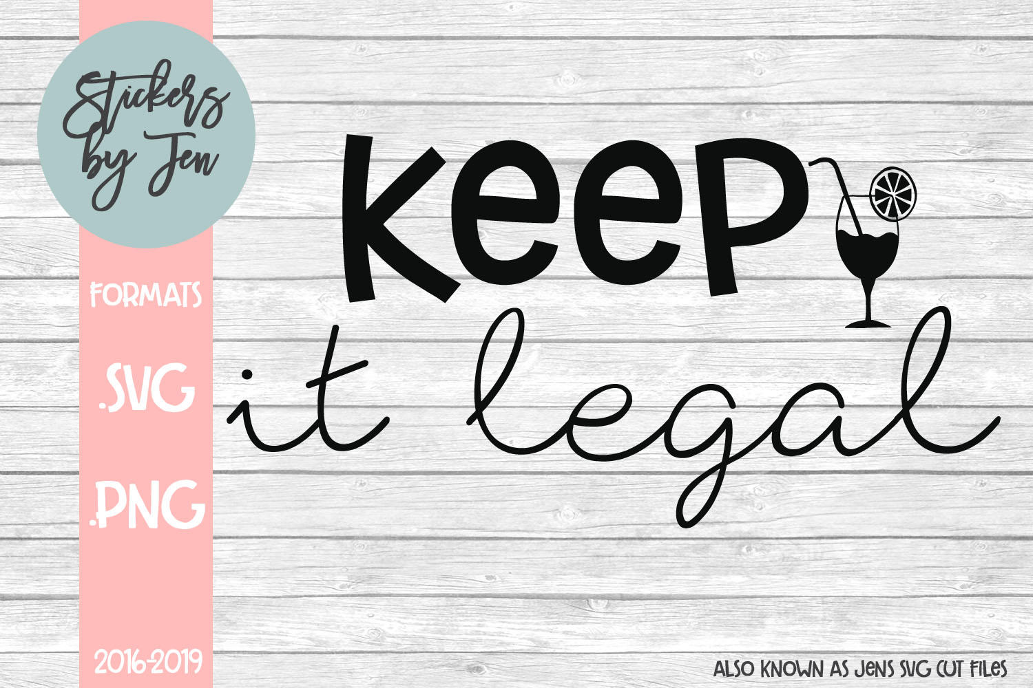 Download Free Keep It Legal Svg Graphic By Stickers By Jennifer Creative Fabrica for Cricut Explore, Silhouette and other cutting machines.