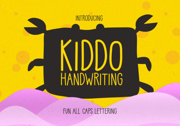 Print on Demand: Kiddo Script & Handwritten Font By creativemedialab