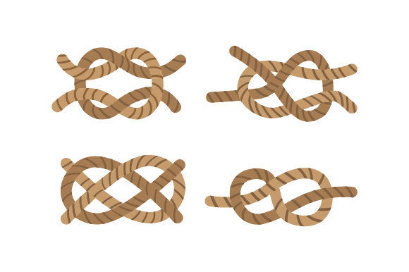 Knots Nautical Craft Cut File By Creative Fabrica Crafts - Image 1