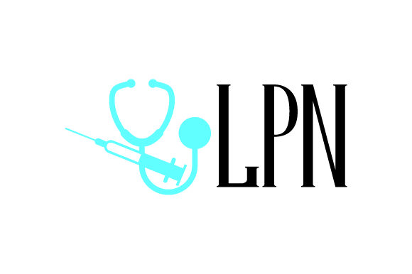 LPN Medical Craft Cut File By Creative Fabrica Crafts - Image 1