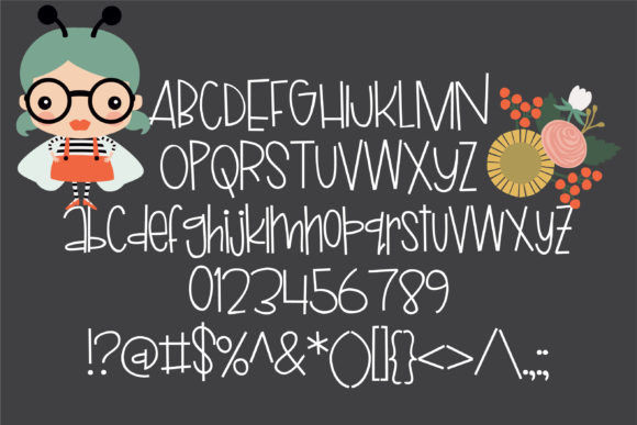 Print on Demand: Ladybug Script & Handwritten Font By Illustration Ink - Image 2