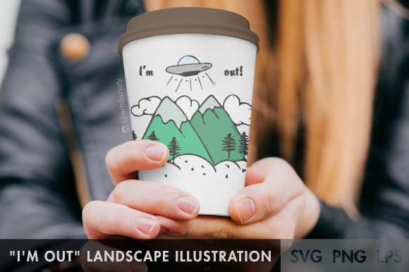Print on Demand: Landscape Illustration Graphic Illustrations By artsbynaty - Image 4