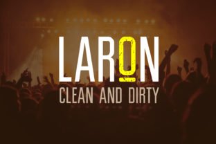 Laron Font By da_only_aan