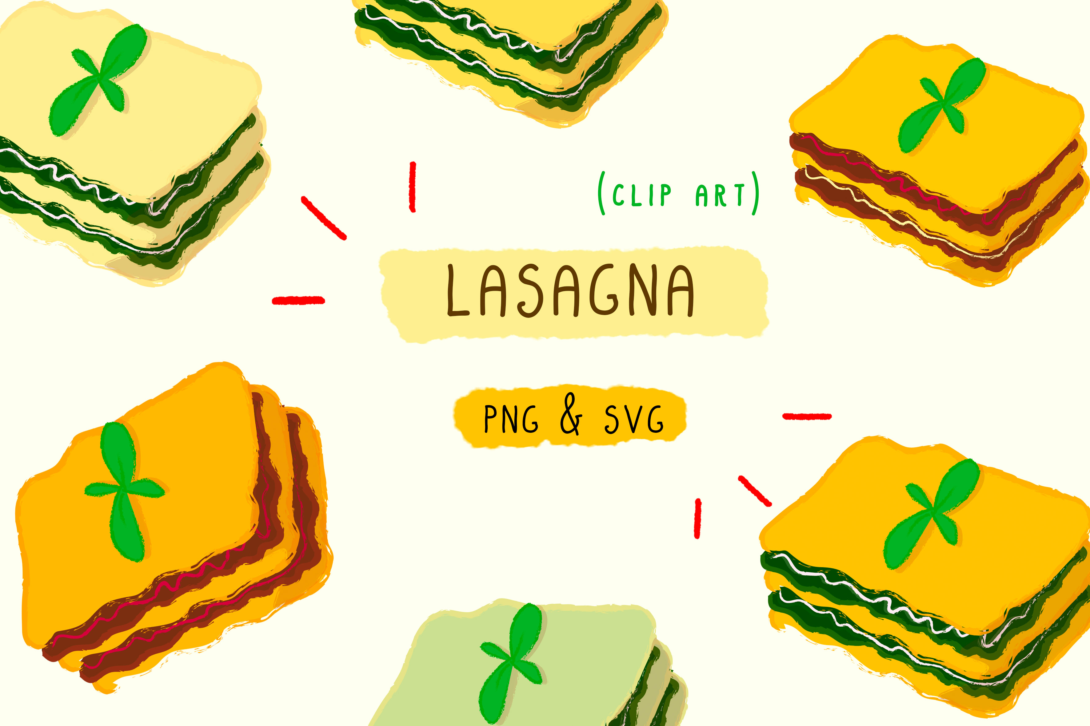 Download Free Lasagna Spinach Meat Svg Png Food Graphic By Inkclouddesign Creative Fabrica for Cricut Explore, Silhouette and other cutting machines.