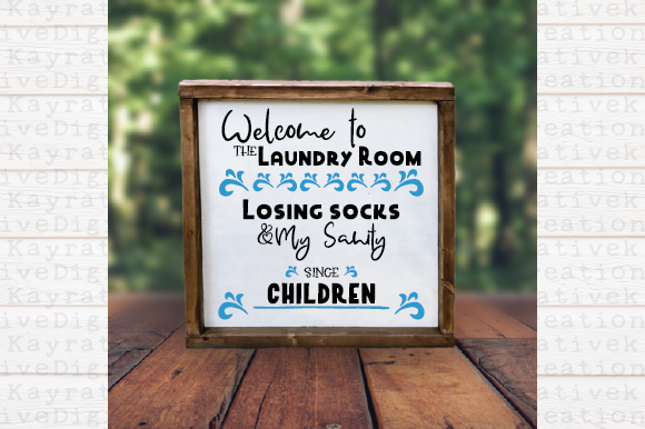 Download Free Laundry Room Svg Lost Socks Graphic By Kayla Griffin Creative for Cricut Explore, Silhouette and other cutting machines.