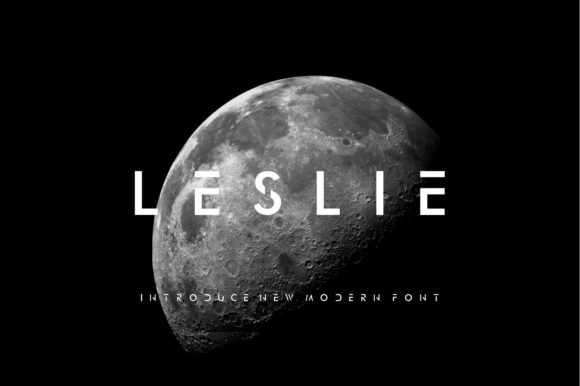 Print on Demand: Leslie Display Font By agustiananugrah08
