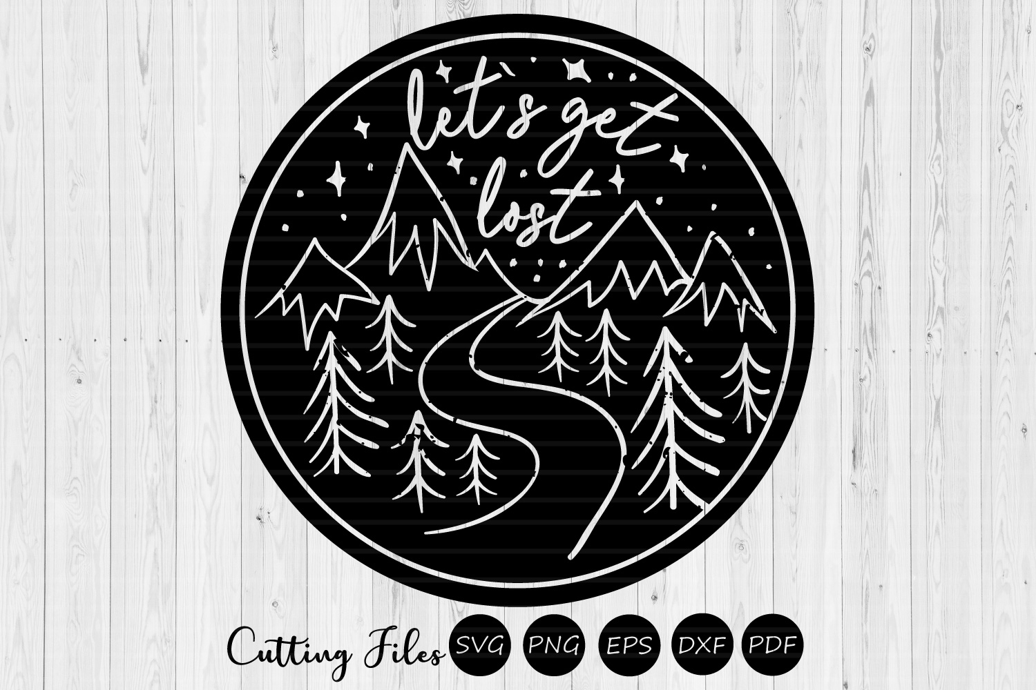 Download Free Lets Get Lost Camping Svg Grafico Por Hd Art Workshop Creative for Cricut Explore, Silhouette and other cutting machines.