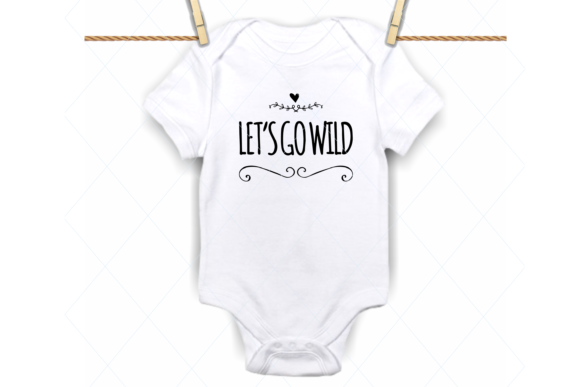 Download Free Baby Onesie Funny Baby Bodysuit Graphic By Thelovebyrds for Cricut Explore, Silhouette and other cutting machines.