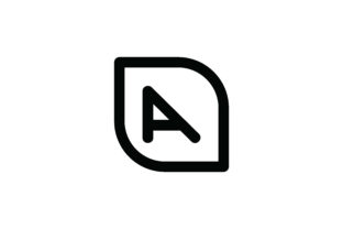 Letter a Icon Graphic Icons By Cowboy Studios