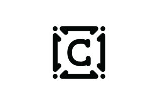 Letter C Icon Graphic Icons By Cowboy Studios