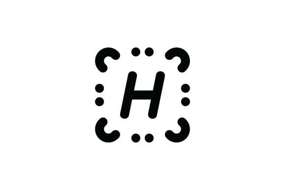 Download Free Letter H Icon Graphic By Newicon Creative Fabrica for Cricut Explore, Silhouette and other cutting machines.