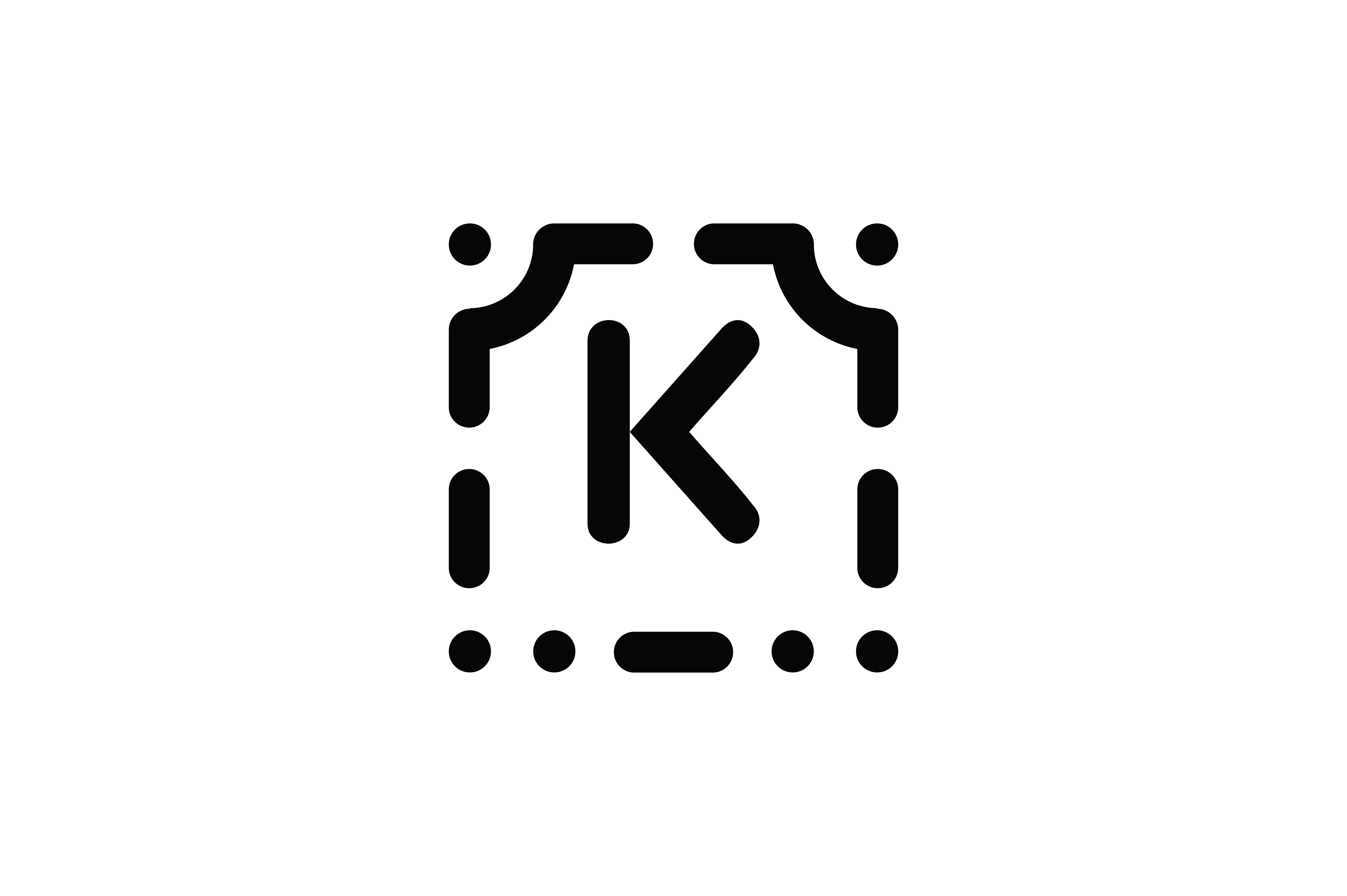 Download Free Letter K Icon Graphic By Newicon Creative Fabrica for Cricut Explore, Silhouette and other cutting machines.