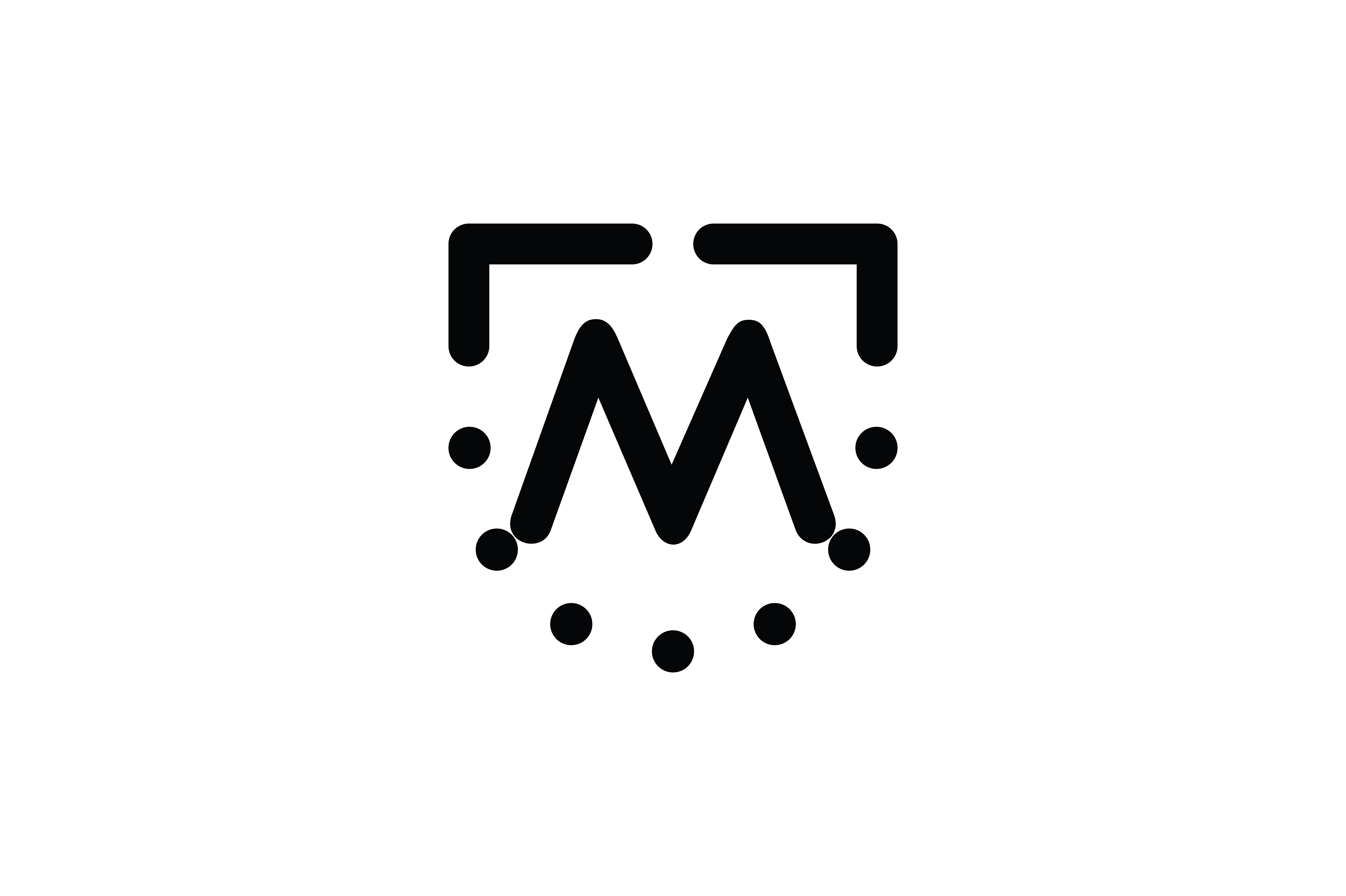 Download Free Letter M Icon Graphic By Newicon Creative Fabrica for Cricut Explore, Silhouette and other cutting machines.