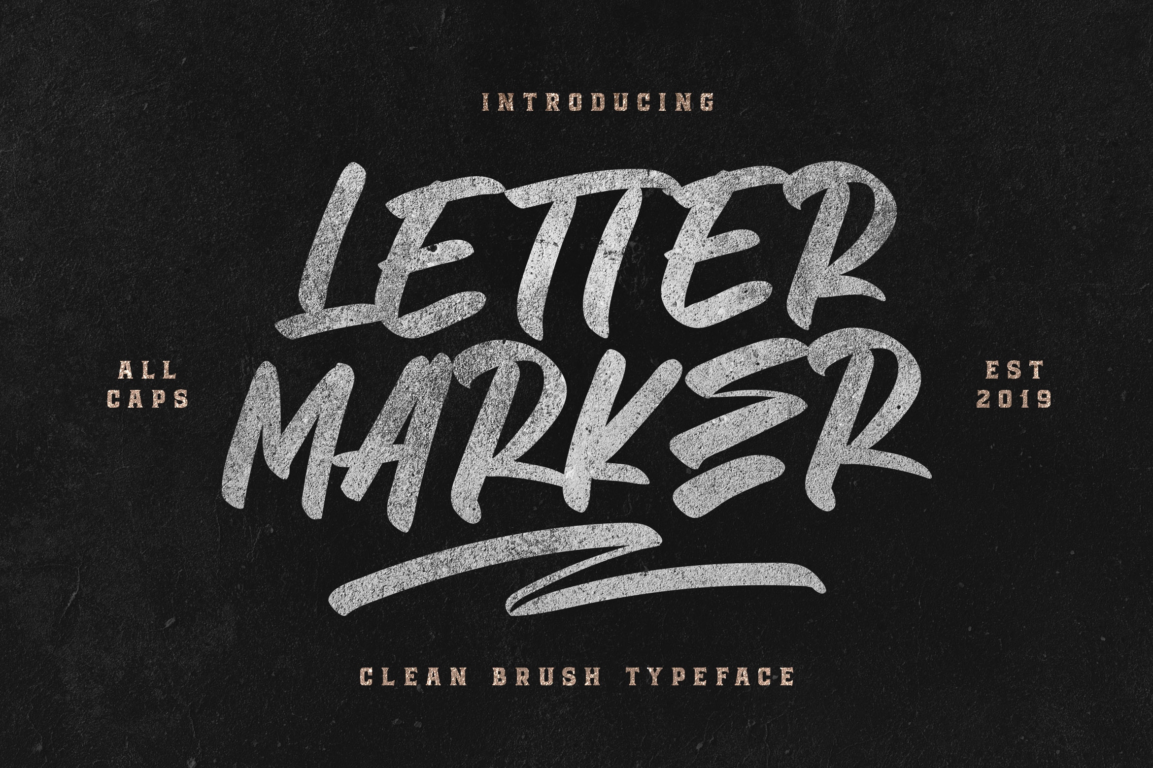 Download Free Letter Marker Font By Blankids Studio Creative Fabrica for Cricut Explore, Silhouette and other cutting machines.