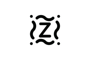 Letter Z Icon Graphic Icons By Cowboy Studios