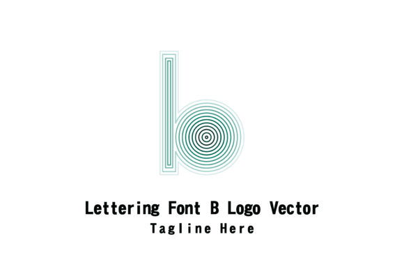 Lettering Font B Vector Graphic By Yuhana Purwanti Creative