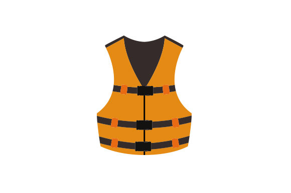Life Vest Nautical Craft Cut File By Creative Fabrica Crafts - Image 1
