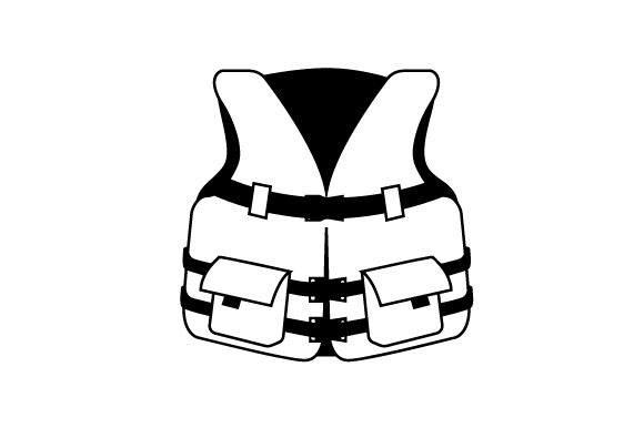 Life Vest Nautical Craft Cut File By Creative Fabrica Crafts - Image 2