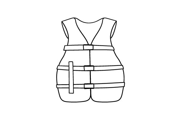 Download Free Life Vest Svg Cut File By Creative Fabrica Crafts Creative Fabrica for Cricut Explore, Silhouette and other cutting machines.