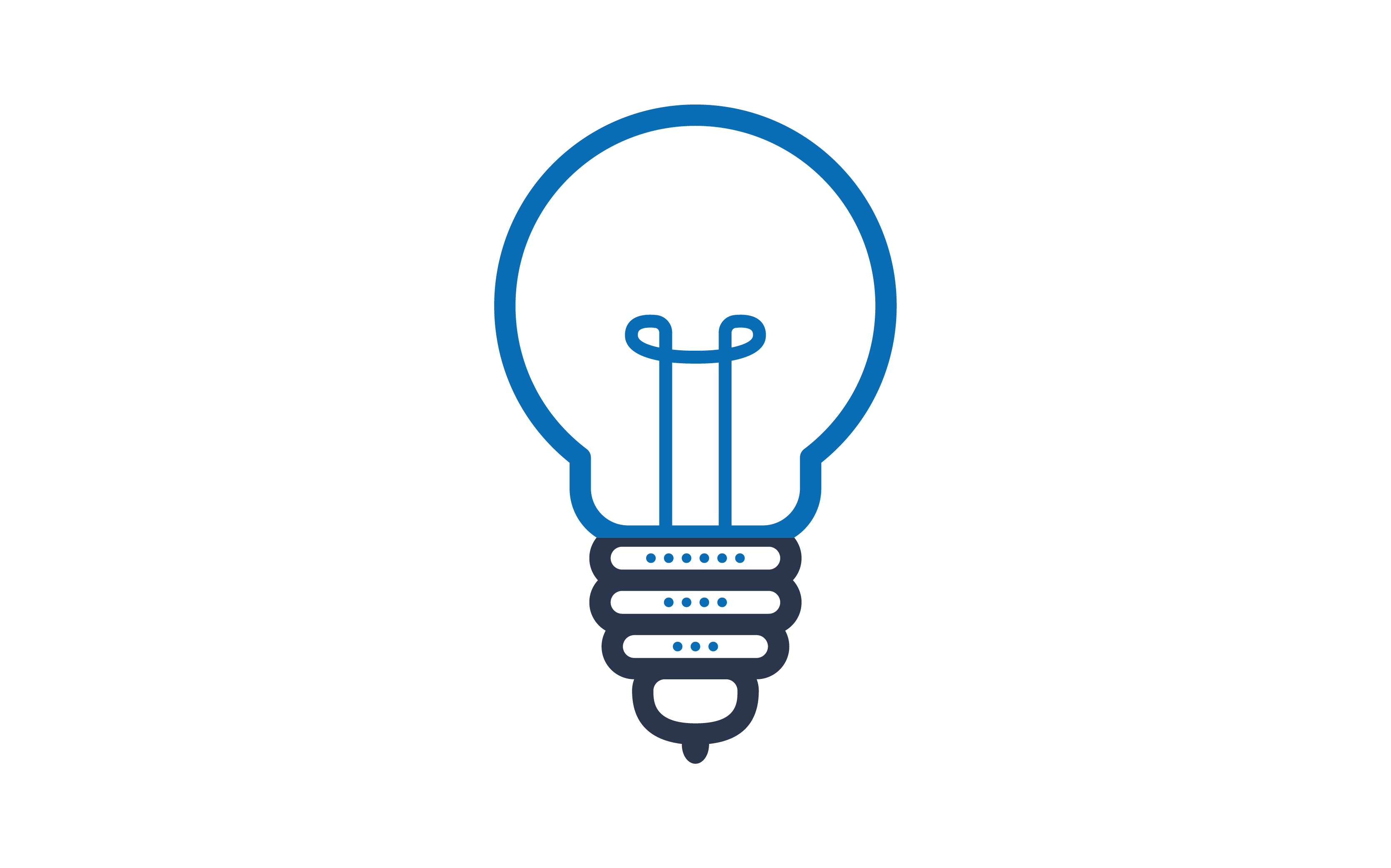 Download Free Light Bulb Two Color Icon Graphic By Techno Aroma Creative Fabrica for Cricut Explore, Silhouette and other cutting machines.
