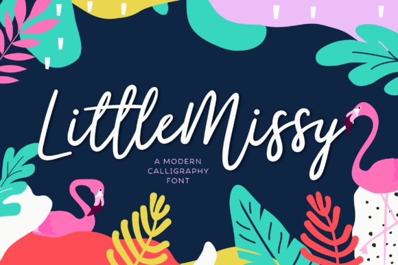 Print on Demand: Little Missy Script & Handwritten Font By typefairy