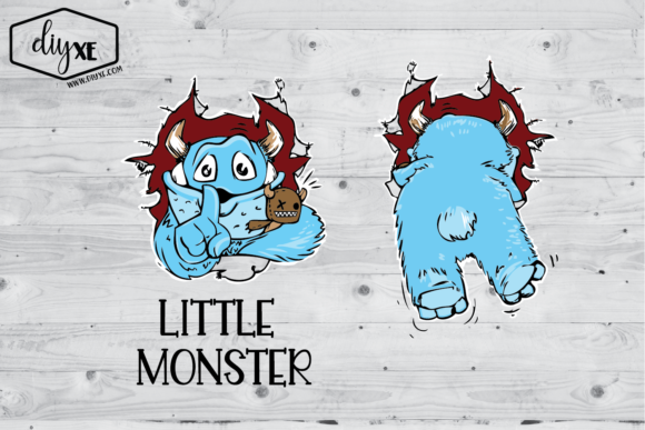 Little Monster Graphic Crafts By Sheryl Holst