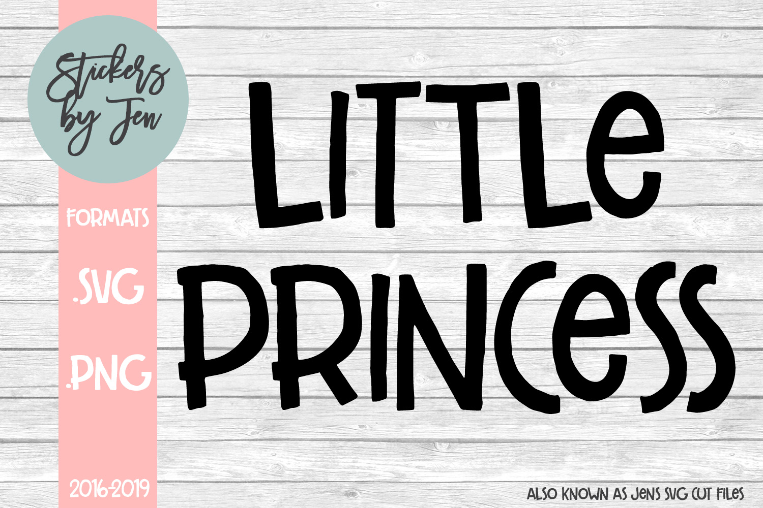 Little Princess Svg 2 Graphic By Stickers By Jennifer Creative Fabrica