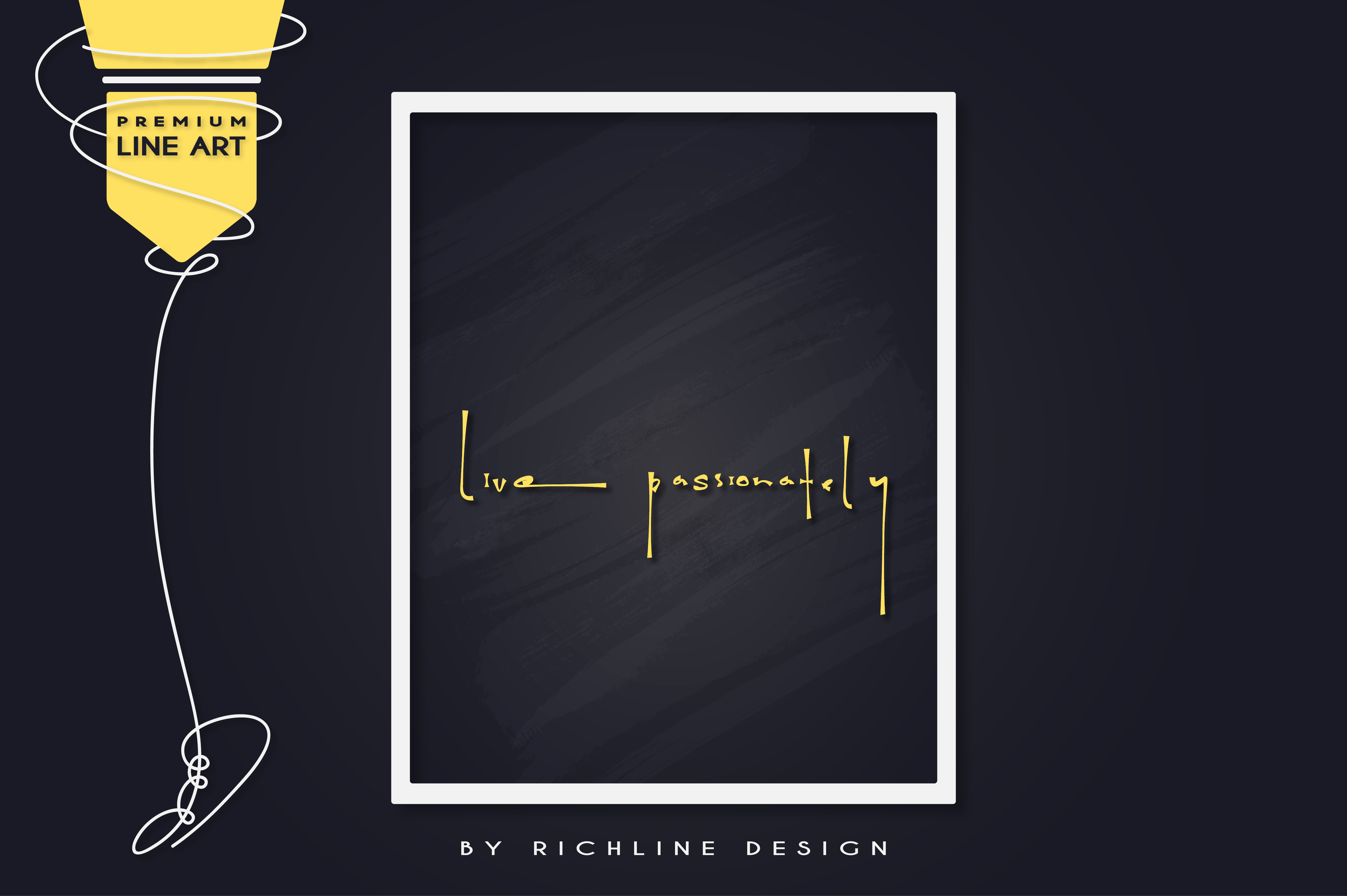 Download Free Live Passionately Quotes Graphic By Richline Design Creative for Cricut Explore, Silhouette and other cutting machines.