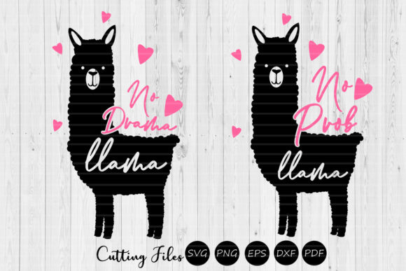 Download Free Llama Pack No Drama Summer Mom Svg Graphic By Hd Art for Cricut Explore, Silhouette and other cutting machines.