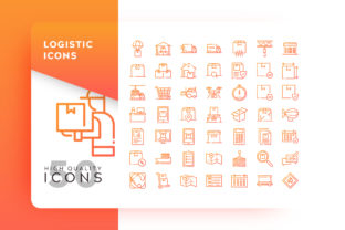 Logistic Icon Graphic By Goodware.Std
