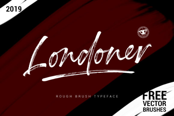 Print on Demand: Londoner Script & Handwritten Font By motokiwo