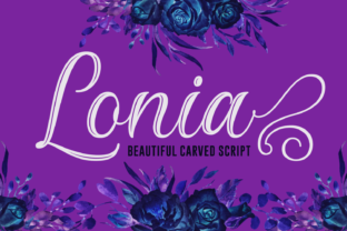 Lonia Font By Situjuh