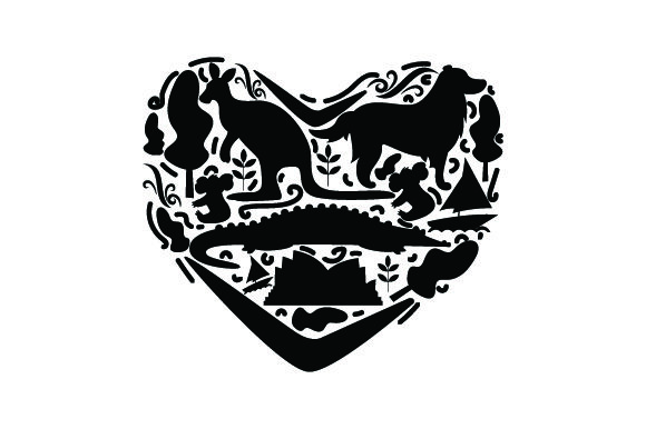 Download Free Love Australia Svg Cut File By Creative Fabrica Crafts for Cricut Explore, Silhouette and other cutting machines.