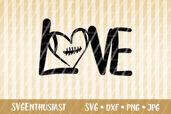 Download Free Love Football Svg Cut File Grafico Por Svgenthusiast Creative for Cricut Explore, Silhouette and other cutting machines.