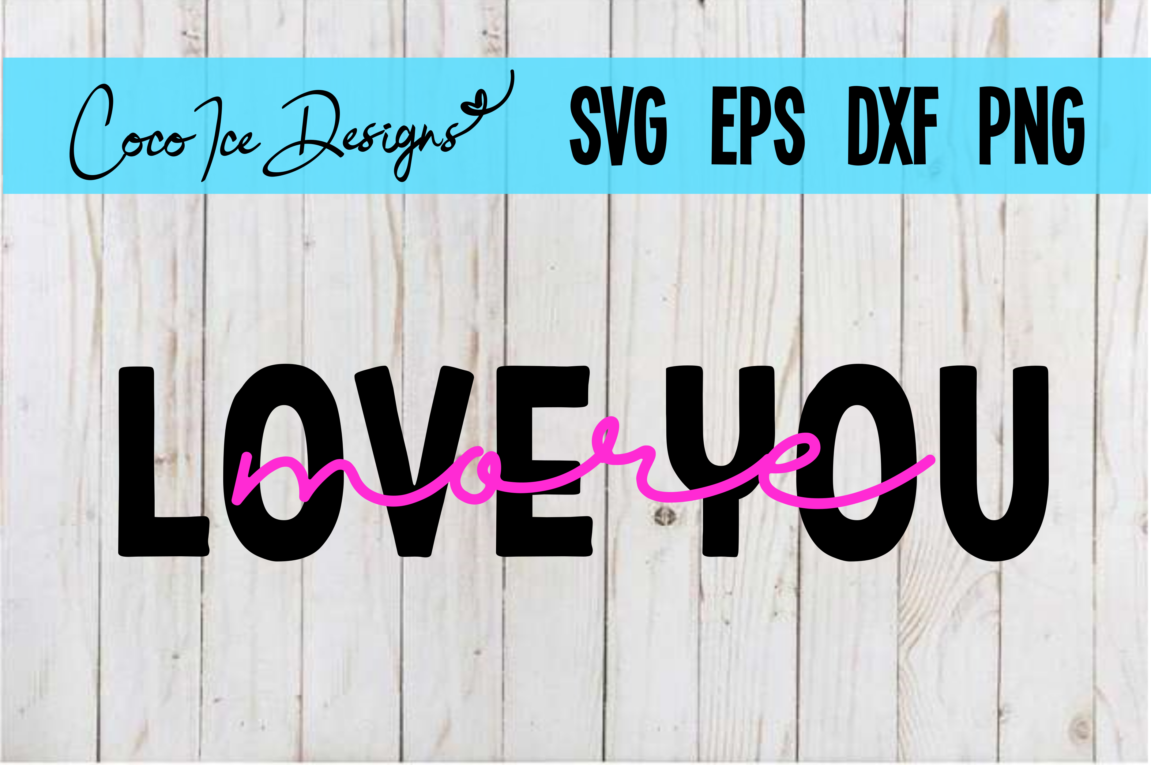 Download Free Love You More Quote Svg Graphic By Cocoicedesigns Creative Fabrica for Cricut Explore, Silhouette and other cutting machines.