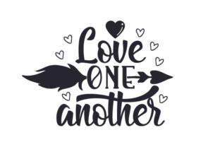 Love One Another Craft Design By Creative Fabrica Crafts
