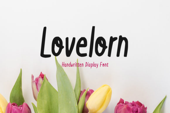Lovelorn Display Font By Shattered Notion