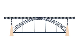 Luis I Bridge Craft Design By Creative Fabrica Crafts