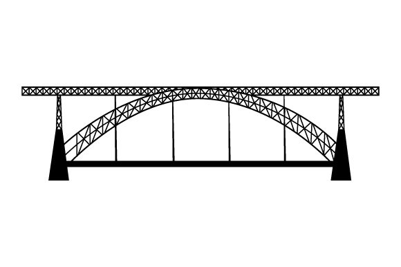 Download Free Luis I Bridge Svg Cut File By Creative Fabrica Crafts Creative for Cricut Explore, Silhouette and other cutting machines.