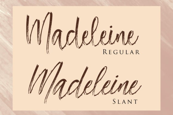 Madeleine Font By dmletter31 Image 2