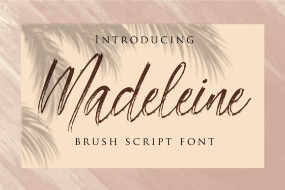 Print on Demand: Madeleine Script & Handwritten Font By dmletter31