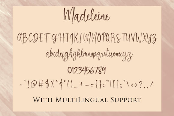 Madeleine Font By dmletter31 Image 7