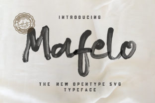 Print on Demand: Mafelo Script & Handwritten Font By Graphicfresh