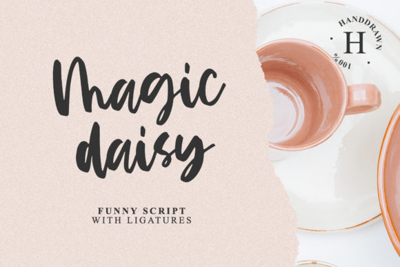 Print on Demand: Magic Daisy Script & Handwritten Font By Dmitrii Chirkov