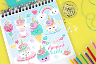 Magical Sweets Graphic By Prettygrafik