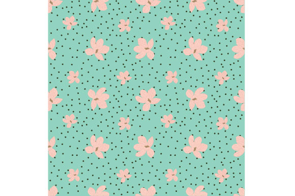Print on Demand: Magnolia Seamless Pattern Graphic Patterns By iop_micro