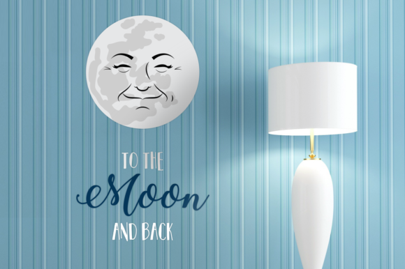 Man In The Moon Svg Graphic By Designedbygeeks Creative Fabrica